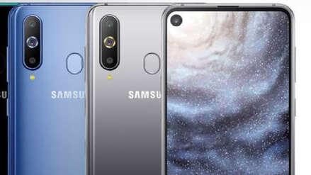 Samsung presentó el Galaxy A8s: el primer teléfono con cámara incrustada en la pantalla