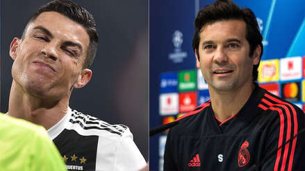 Solari envió un mensaje a Cristiano Ronaldo y defiende a la