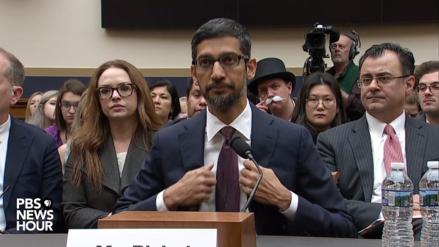 EN VIVO: El CEO de Google se presenta ante el Congreso estadounidense para hablar de transparencia en Internet