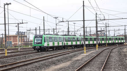 Metro de Lima puso en operación 20 nuevos trenes