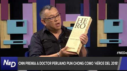 Ricardo Pun Chong, 'Héroe del año' por CNN: