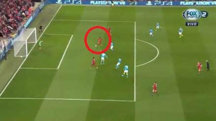 Liverpool vs. Napoli: Mohamed Salah perdió una increíble ocasión de gol