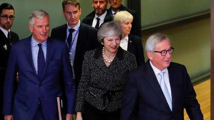 La Unión Europea a Theresa May: El acuerdo del brexit no es renegociable