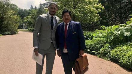 Paolo Guerrero acudió a la prefectura para declarar por el caso 'Cuellos Blancos'