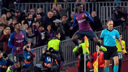 Dembélé respondió con un golazo a la sanción que le impusieron en el Barcelona