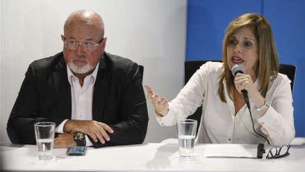 Mercedes Aráoz y Carlos Bruce piden inhibición de Pedro Chávarry en investigación en su contra