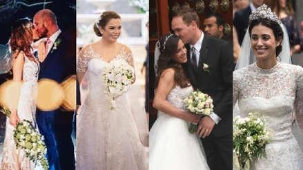Las bodas del año: Estos famosos peruanos se casaron en el 2018 [FOTOS]