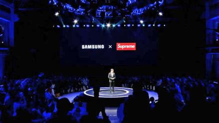 Samsung presentó una alianza con Supreme, pero resultó ser una imitación de la marca de ropa