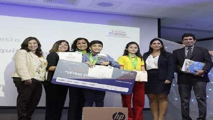 Escolar de Kañaris destaca entre los tres mejores cuentistas de turismo del Perú