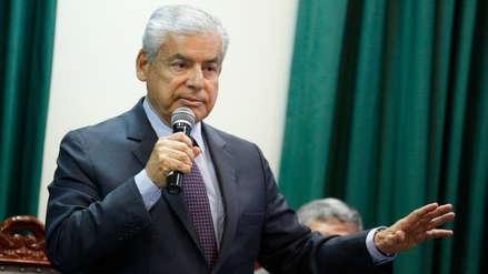 Villanueva aseguró que ministro del Interior acudirá a interpelación en el Congreso