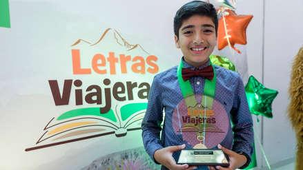 Escolar trujillano escribió el mejor cuento de turismo del Perú