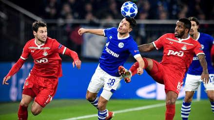 Lokomotiv perdió ante Schalke 04 en la última fecha de la Champions League