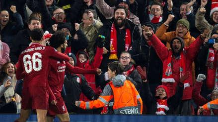 Liverpool vs. Napoli: la gran jugada de Mohamed Salah que terminó en golazo