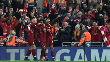 Liverpool ganó a Napoli y clasificó a los octavos de final de la Champions League