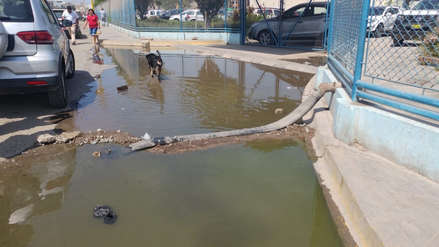 Aniego de desagüe afecta a pacientes del hospital Almanzor Aguinaga de Chiclayo