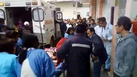 Una profesora muerta y cuatro heridos tras accidente en Sánchez Carrión