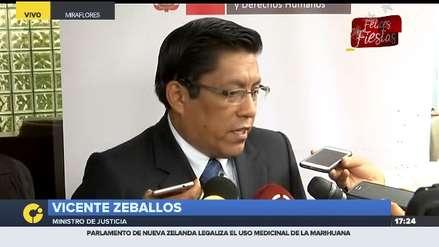 Ministro de Justicia pide investigar a Alan García por supuestos contactos en la Fiscalía