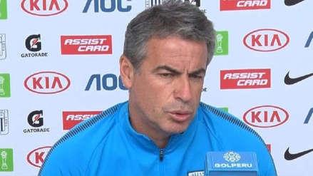 "Alianza Lima vs. Sporting Cristal | Pablo Bengoechea: ""Tenemos grandes chances de ser campeón"""