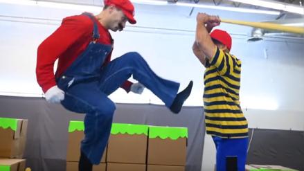 Dobles de Avengers Infinity War rinden homenaje a Super Smash Bros. con impresionante coreografía