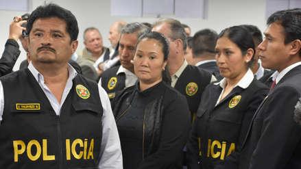 Keiko Fujimori | Audiencia de apelación de prisión preventiva será el sábado 15 de diciembre