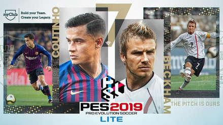 PES 2019 LITE: Todo lo que debes saber de la versión gratuita de Pro Evolution Soccer