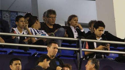 Alianza Lima vs. Sporting Cristal: Ricardo Gareca asistió a la primera final del Descentralizado