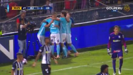 Alianza Lima vs. Sporting Cristal: Gabriel Costa anotó el tercero para los celestes y sentenció el partido