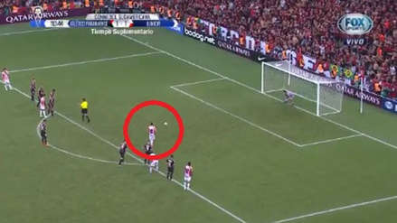 Atlético Paranaense vs. Junior: Barrera falló de forma increíble un penal en la final