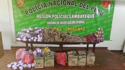 Policía decomisa más de 58 mil pirotécnicos que iban a ser vendidos en Navidad