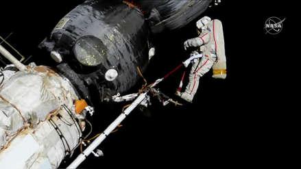 Video | Cosmonautas rusos concluyen con éxito caminata espacial de casi ocho horas en la EEI