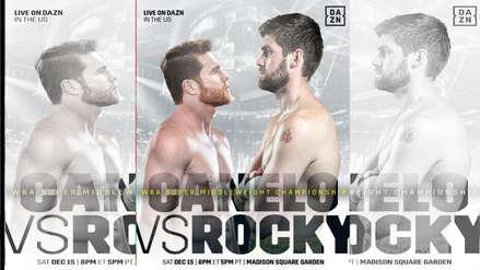 'Canelo' Álvarez vs. Rocky Fielding EN VIVO: horarios y canales de TV para ver la pelea de box por el título supermediano de la AMB