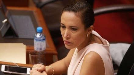 Comisión de Ética del Congreso dará prioridad al caso de Paloma Noceda