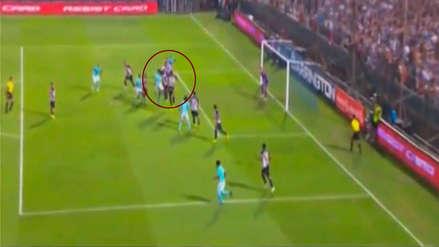 El gol anulado a Sporting Cristal que pudo ser el 3-0 sobre Alianza Lima