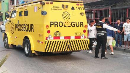 Delincuentes asaltan camión de caudales y deja cuatro heridos en Villa El Salvador