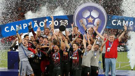 Atlético Paranaense venció a Junior y se coronó campeón de la Copa Sudamericana