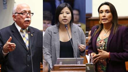 Reacciones en el Congreso tras mensaje a la Nación de Martín Vizcarra
