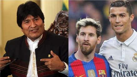 Evo Morales: Sacarme de contienda es como sacar a Messi o a Cristiano Ronaldo de sus selecciones