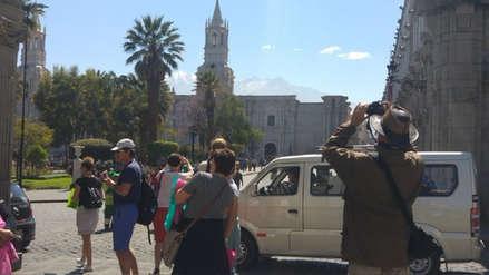 Turismo nacional hacia Arequipa cae 20% por alza de pasajes en avión