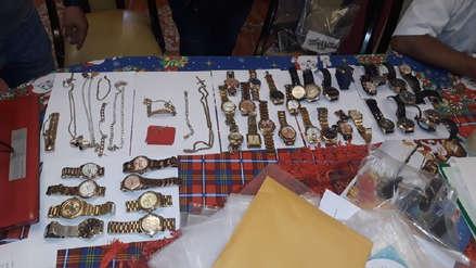 Willy Serrato: los relojes de oro y joyas que le incautaron al alcalde electo de Olmos
