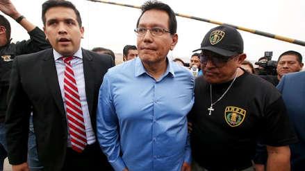 Jueza rechazó prisión preventiva contra Félix Moreno por el caso Odebrecht