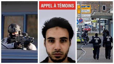 Así se desarrolla la búsqueda en toda Francia del atacante de Estrasburgo que mató a tres personas