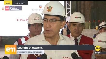 Vizcarra: Ampliar la legislatura para implementar la Junta Nacional de Justicia es