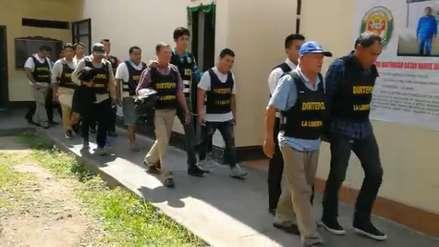 Policía detiene a 18 presuntos miembros de organización criminal Armagedón