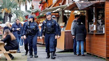 Reabrió el mercado de Navidad de Estrasburgo tras el atentado del martes