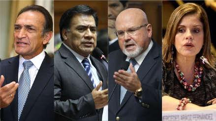Becerril, Velásquez, Bruce y Aráoz fueron mencionados por la Fiscalía en caso