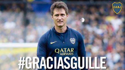 Boca Juniors anunció la salida de Guillermo Barros Schelotto como entrenador