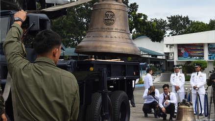 EE.UU. devolvió tres trofeos de guerra que tomó hace más de 100 años en Filipinas