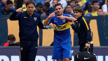 Fernando Gago recibió el alta médica y su futuro es incierto en Boca Juniors