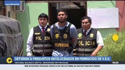 Policía confirmó la detención de tres presuntos implicados en el feminicidio de Marisol Estela Alva