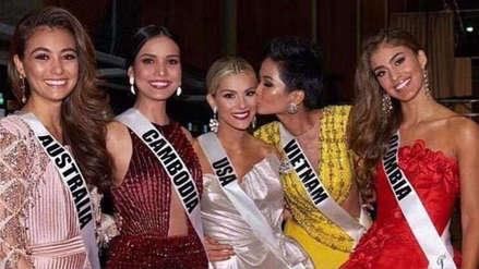 Miss Universo 2018: Esta fue la respuesta de las misses que sufrieron las burlas de Miss EE.UU.
